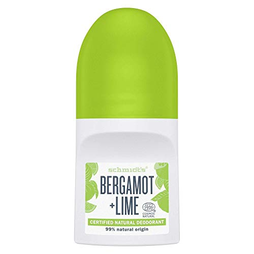 Schmidt´s Roll-On Bergamot & Lime, 50 ml