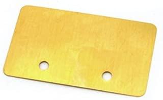 Fender Jazzmaster Pickup Shield - Brass