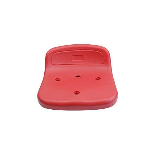 smart group Low Backrest HDPE Plastic Stadium Seats for Bleachers or Cement Steps