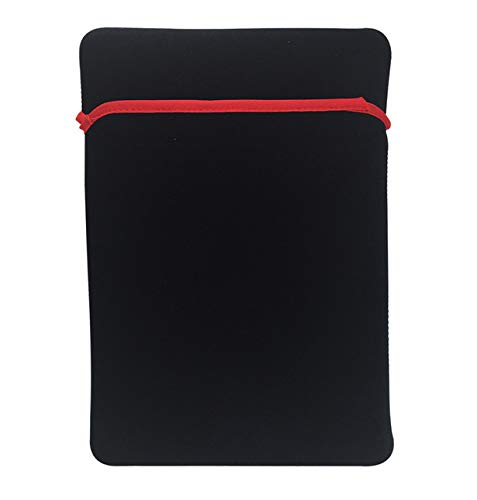XXIUYHU wasserdichte Soft Tablet PC Hülle Spritzwassergeschützt Laptop Tasche Notizbuch Hülle Schutzhülle für iPad Huawei XIAOMI Lenovo Sony HP Dell 10 Zoll Schwarz