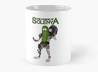 The Legend of Solenya - Pickle Rick Mug, Standard Mug Mug Coffee Mug Tea Mug - 11 oz Premium Quality printed coffee mug - Unique Gifting ideas for Friend/coworker/loved ones