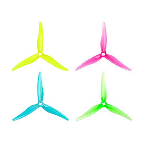 BETAFPV Gemfan 16pcs 5125 3-Blade Props with 5mm/1.5mm Shaft Whoop Drone Propellers for 140X 150X Motor TWIG ET5 5inch Toothpick Quad