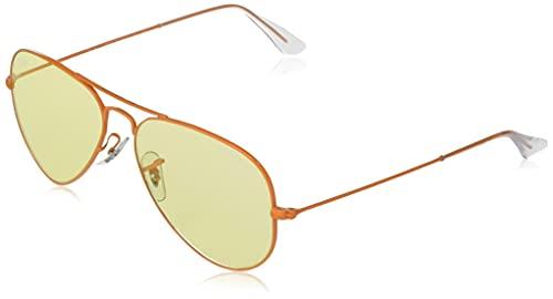 Ray-Ban Rb3025 Aviator Classic Evolve Photochromic Gafas, Naranja, Standard para Hombre