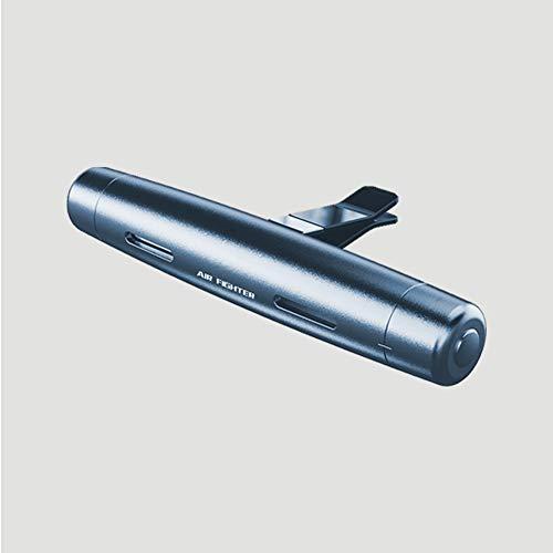 Salpicadero del Coche Decoración Cortador de Martillo de Seguridad Incorporado Coche Aromaterapia Aceites Esenciales 3.5 * 1.8 * 0.6 Pulgadas (Pieza de Fragancia * 1) (Color : Gray)