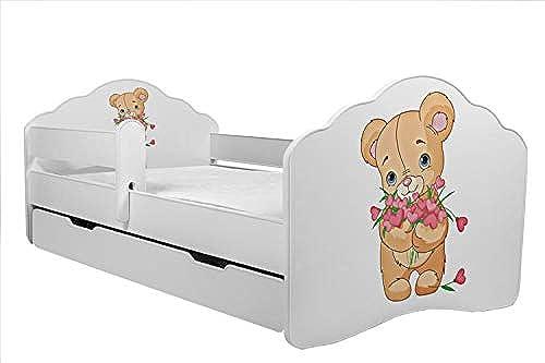 tienda en linea Kobi Cama Infantil de 160 160 160 x 80 cm con cajón y Alfombrilla  Tienda de moda y compras online.
