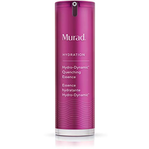 Murad Hydration Hydro-Dynamic Quenching Essence - Hydro-Boost Exfoliating Face Moisturizer - Weightless Face Essence with Glycolic Acid, 1.0 Fl Oz