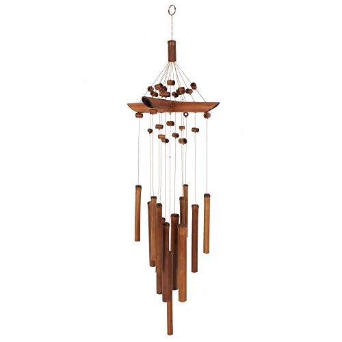 Carillon en bambou avec perles