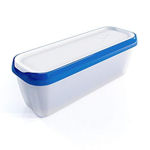 Zwin® Eisbehälter 1,5 Liter - Portionierbehälter - Ideal für selbstgemachtes EIS - BPA frei - Zubehör Speiseeis