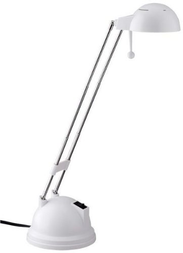 Brilliant lámpara de escritorio Salsa Color Blanco Blanco, Incluye Bombilla: G420W 190LM | G08048/05