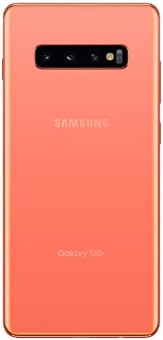 Samsung Galaxy S10+Factory Unlocked Android Cell Phone | US Version | 128GB of Storage | Fingerprint ID and Facial Recognition | Long-Lasting Battery | Flamingo Pink WeeklyReviewer
