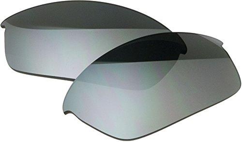 Zero 自社製 オークリー FLAK JACKET サングラス用 交換レンズ SLATE MIRROR スレートミラー