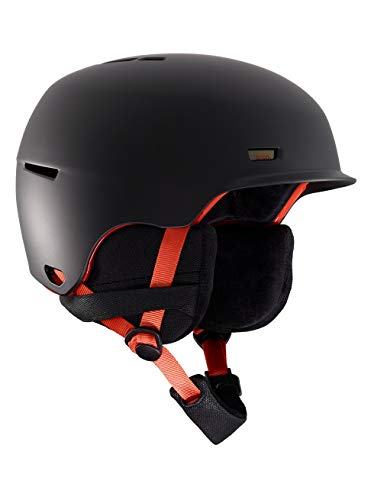 Anon Herren Highwire Snowboard Helm, Black Pop, S