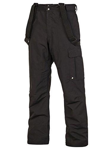 Protest DENYSY Herren 10K wasserdichte und atmungsaktive Skihose True Black XL