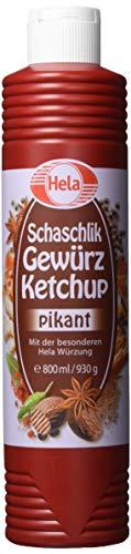 Hela Schaschlik Gewürz Ketchup 800 ml (1 x 800 ml)
