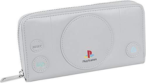 Playstation Männer Geldbörse grau Polyurethan, Polyester Fan-Merch, Gaming, Retrogaming