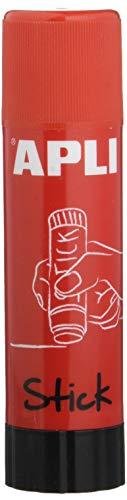 Apli Kids 12147 Stick di colla adesiva, 40 g, Rosso, 1 pezzo