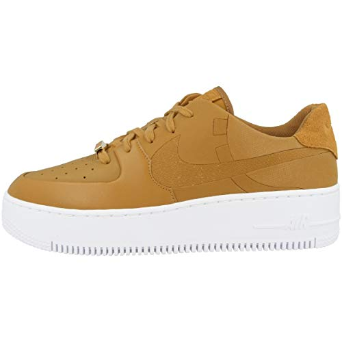 Nike Low Air Force 1 Sage Low LX - Zapatillas deportivas para mujer, color Marrón, talla 43 EU