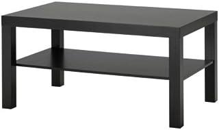 Ikea Mesa de sofá Lack Color Negro marrón 90x 55cm