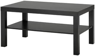Ikea Mesa de sofá Lack, Color Negro marrón, 90x 55&