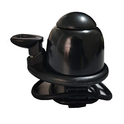 moonuk Scooter eléctrico Horn Bell Gadgets Cool para M365 Monopatinete eléctrico Ninebot ES1 ES2 F0 Accesorios de Bicicletas de USETDRIVE ( Color : Black )