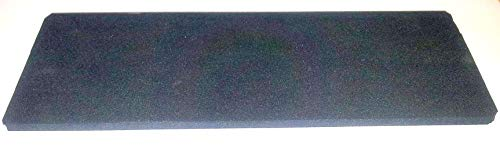 Rutschfeste Kautschuk-Unterlage für Schleifsteine (220mm x 80mm x 5mm)