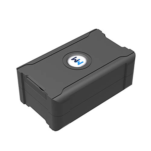 GPS Tracker - Voice Monitoring - Real-Time Tracking - Asset GPS Tracker - 6000mAh Battery Tracking For Car Rental, Loan Vehicles, Fleet Management Industries