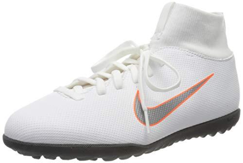 Nike Unisex-Erwachsene Mercurial Superfly X 6 Club TF JR AH7345 Fußballschuhe, Mehrfarbig (Indigo 001), 37.5 EU