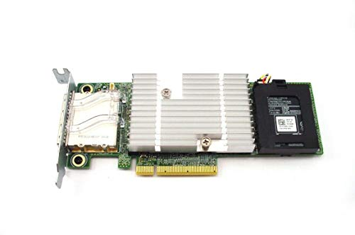 DELL 0HX53 Shared PERC 8 SFF PowerEdge RAID SAS Controller Card + Battery Backup Unit