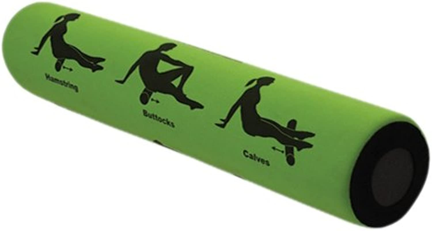 Smart Recovery  SelfGuided Foam Roller  9 Printed Exercises, 2 Feet Long, Firm, Perfect for Increased Flexibility
