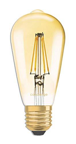 CONCIERGE PLUGNSAY 1874 BULB - ampoule vintage à filament LED WIFI E27 compatible google home et amazon alexa