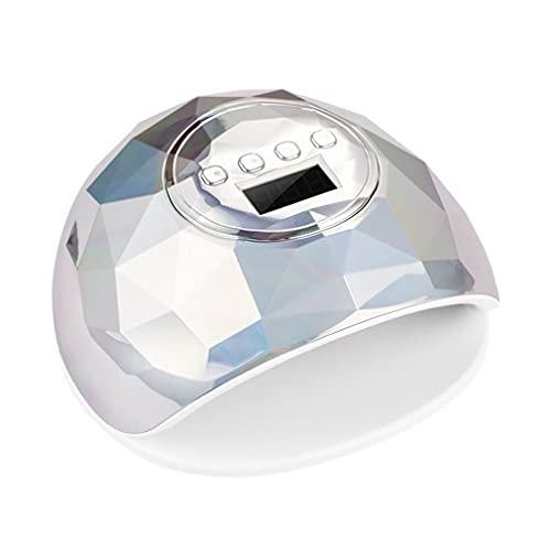 YXDS Secador de uñas 86w Lámpara de uñas de Gel Led Lámpara de Hielo de Esmalte de Gel de curado rápido para máquina de manicura de uñas
