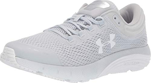 Under Armour Women's Charged Bandit 5 Running Shoe, Halo Gray (100)/Mod Gray, 9.5
