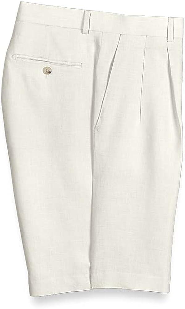 Arlington Excellent Mall Paul Fredrick Men's Linen Shorts Pleated