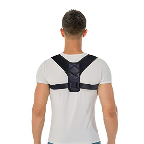 Posture Corrector for Women and Men,Best Designed Fully Adjustable Posture Brace for Clavicle Support and Providing Pain Relief from Neck, Back and Shoulder(Universal)