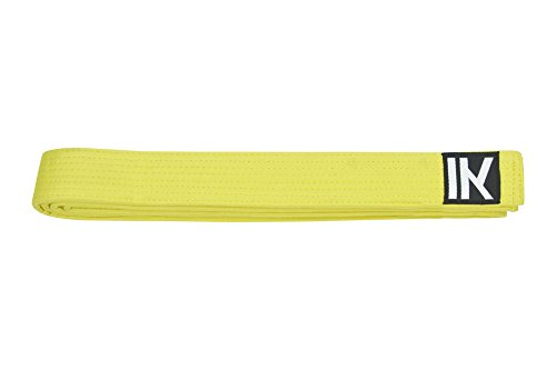 Cinturon Judo Blanco Amarillo Marca IKKEN