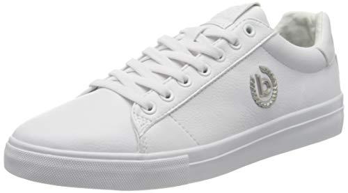 bugatti Herren 321929015000 Sneaker, Weiß, 42 EU