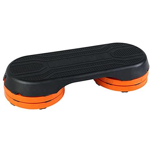 zhengowen Steps De Aerobic Fitness Pedal Adelgazamiento Pasos de Ejercicio Pérdida de Peso de la casa Pedal aeróbico Sala de aeróbicos Paso aeróbico (Color : Orange, Size : 106x41.5x20.5cm)
