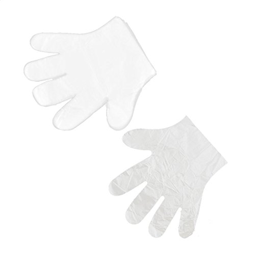 uxcell Plastic Home Restaurant Food Service Hand Protective Disposable Gloves 100 Pcs Clear