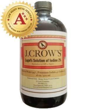 Lugol's Solution 2% 16oz bottle