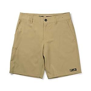 PELAGIC Deep Sea Hybrid Fishing Shorts | Size 36 | Khaki