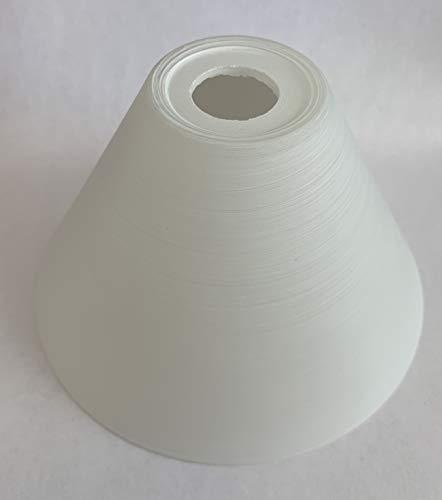 Trio Lampenschirm Lampenglas 9350-19 weiß gewischt E14 80mm