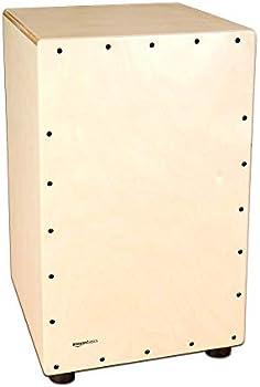 Amazon Basics Wooden Birch Cajon Percussion Box