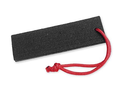 lasiprofi Striegeldingens mit Kordel schwarz Gummistriegel für Pferde Pferdepflege Fellpflege