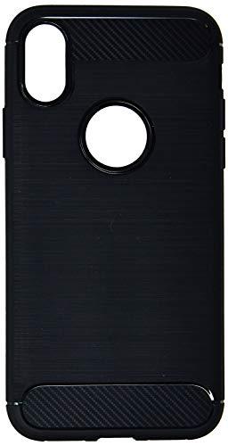 Capa Carbon Fiber para iPhone X e iPhone XS, iWill, BCF IPX BK, Preta