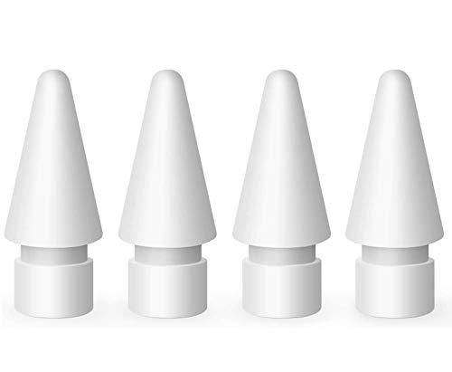 Sweetone {Pack de 4} ompatible con Apple Puntas, Punta de Alta sensibilidad para iPencil Tip Puntas de Repuesto para lápiz...