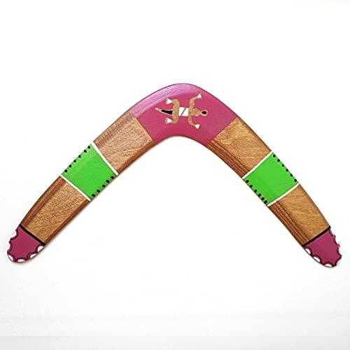 Boomerang de madera. Deporte, ocio, regalo y decoración. DIESTRO. Apto para adultos y niños desde 10 años.Ideal regalo, celebración, despedida, amistad, recuerdo.