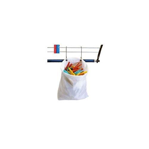 Parodi & Parodi Wäsche-Wäscheklammern Tasche wasserdicht, Polyester, mehrfarbig, 27 x 30 cm