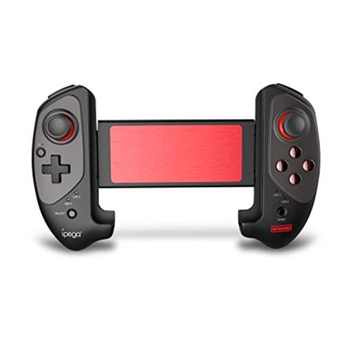 CHENG Gamepad Bluetooth, Jeu Télescopique Manette sans Fil Pratique Extensible Manette De Jeu Pad 360 ° Direction Flexible pour iOS/Android/Win / 7/8/10