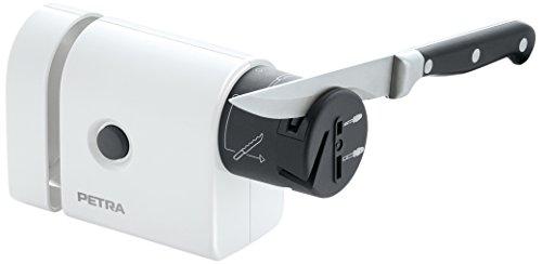 Petra AS 10 Affilatrice elettrica 5 funzionalità, interruttore on/off, colore: Bianco