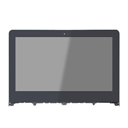 FTDLCD® 11.6'' HD LCD Pantanlla Táctil Digitalizador con Marco Reparación de Ordenador Asamblea para Lenovo Yoga 300-11IBR